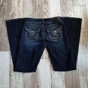 Silver Suki Surplus Boot Cut Jeans